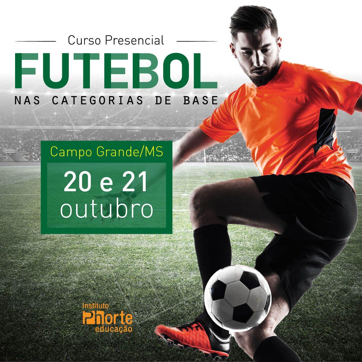 Futebol nas categorias de base  - Cursos distância e aulas online Instituto Phorte Educação.