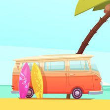 Iniciação à história e à prática do surfe (Marcello Árias)  - Cursos distância e aulas online Instituto Phorte Educação.