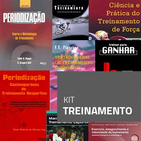 Kit Treinamento (Kit com 8 livros)  - Cursos distância e aulas online Instituto Phorte Educação.