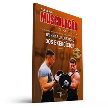 Livro DVD Musculação total Vol. 1: técnicas de execução dos exercícios (Prof. Waldemar Guimarães)  - Cursos distância e aulas online Instituto Phorte Educação.