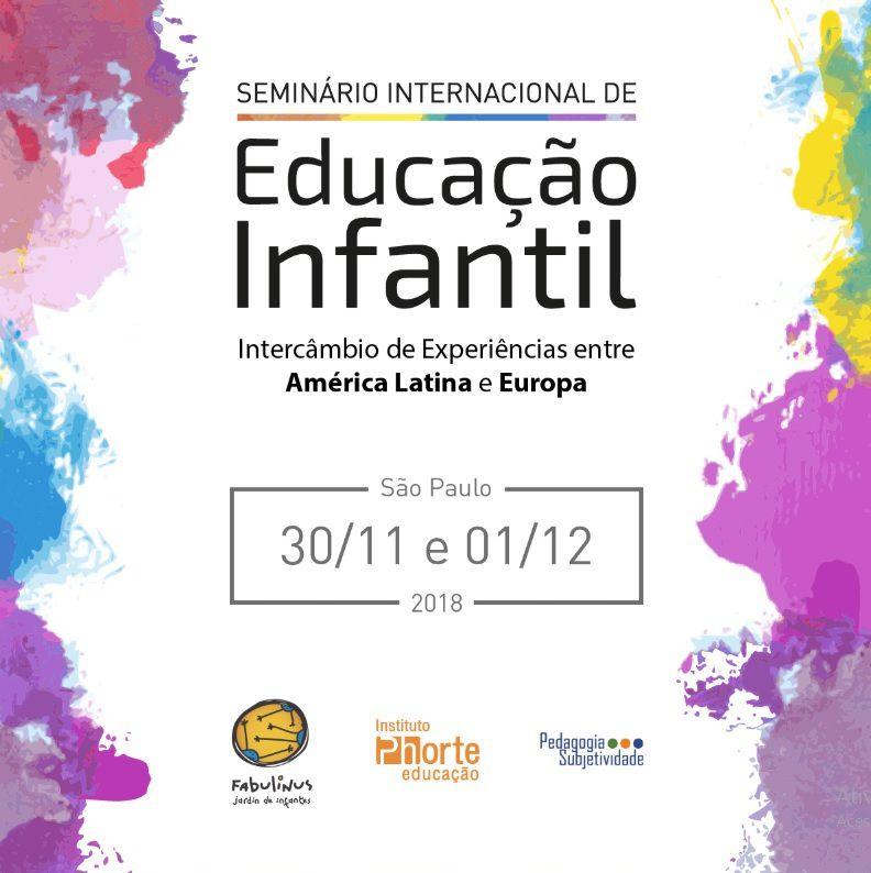 Seminário Internacional de Educação Infantil  - Cursos distância e aulas online Instituto Phorte Educação.
