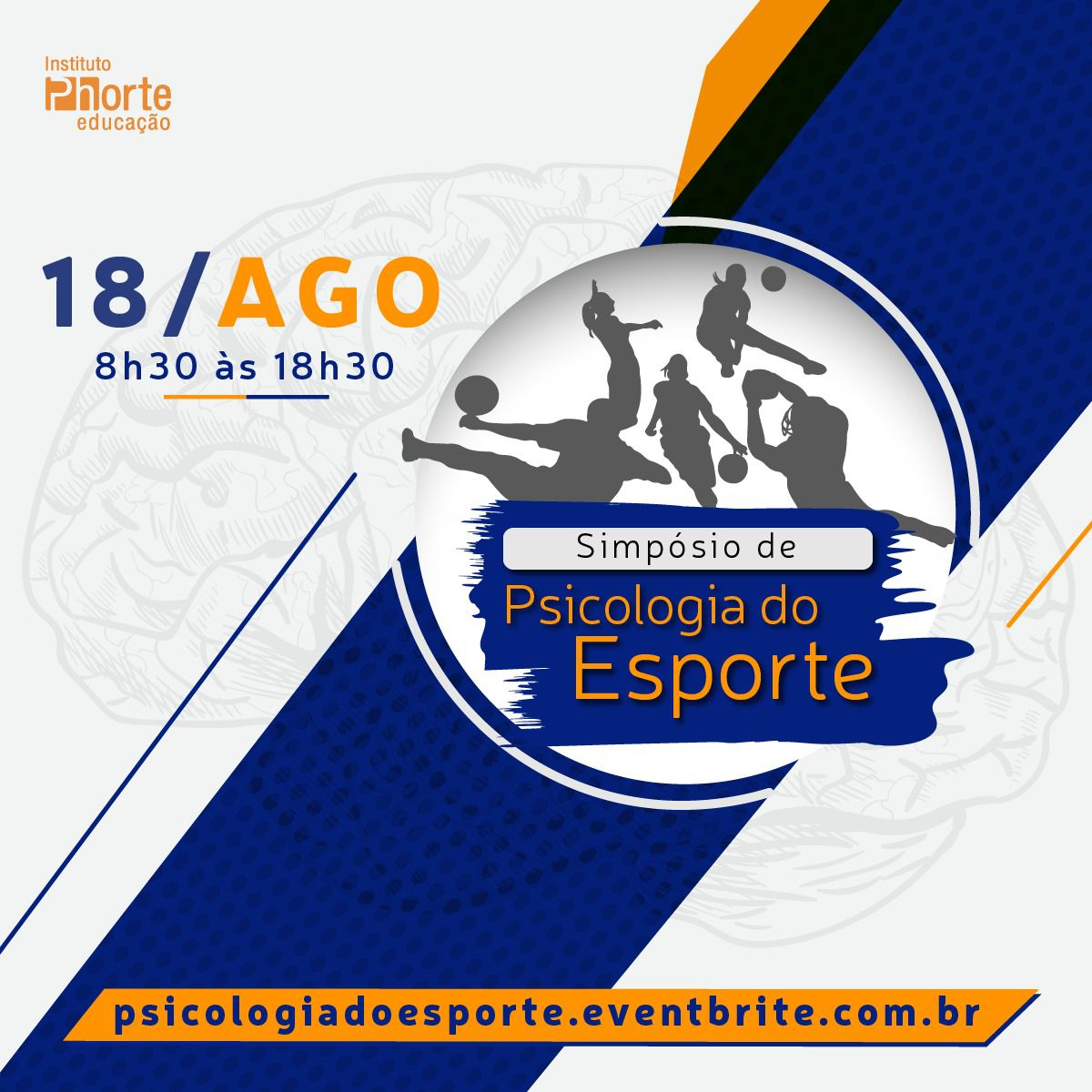 Simpósio de Psicologia do Esporte (18 de agosto)  - Cursos distância e aulas online Instituto Phorte Educação.