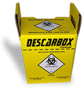 Coletor Perfuro Cortante ECOLOGIC - DESCARBOX 3 L
