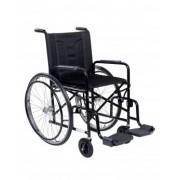 Cadeira de Rodas Hospitalar Modelo 2000 PI Preta - CDS