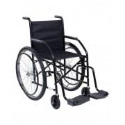 Cadeira de Rodas Raiada Moldelo 101 Preta - CDS
