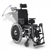 Cadeira de Rodas AVD Alumínio Reclinável L44 - ORTOBRAS