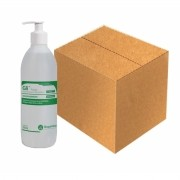 Gli Pump 500mL (Álcool etílico hidratado 70º INPM GLICERINA 2%)  Cx. c/12 Und - RIOQUÍMICA