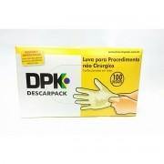 Luva de Procedimento em Látex - DESCARPACK - Tam P