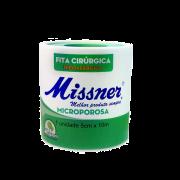 Fita Cirúrgica Microporosa Hipoalérgica 5cmx10m - Branca - MISSNER