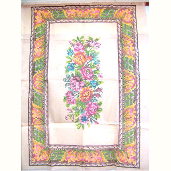 Tela Tapete Floral 14  - Conceição Spinola Tapeçaria