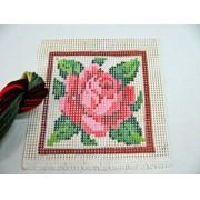Kit  Peso de Porta Rosa Grande Vermelha
