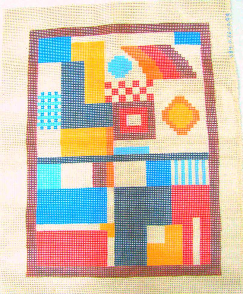 Tela Tapete Geométrico 13  - Conceição Spinola Tapeçaria