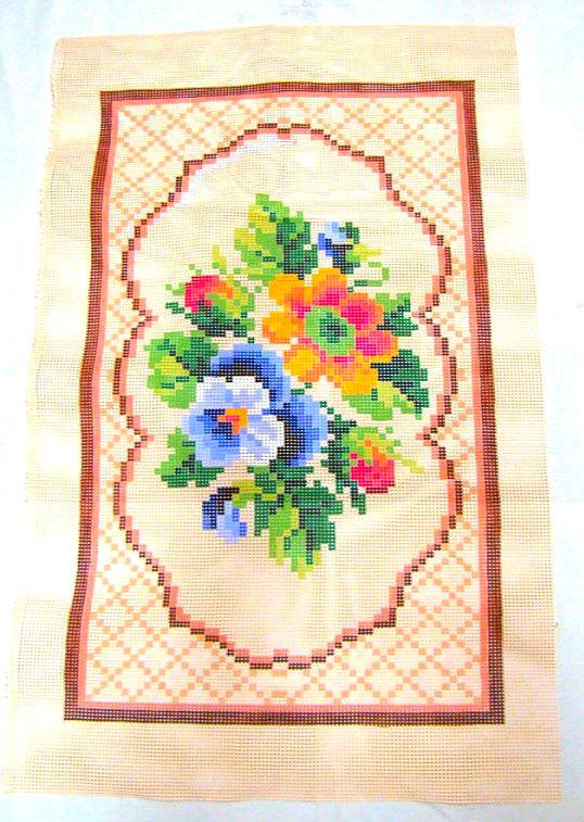 Tela Tapete Floral 22  - Conceição Spinola Tapeçaria