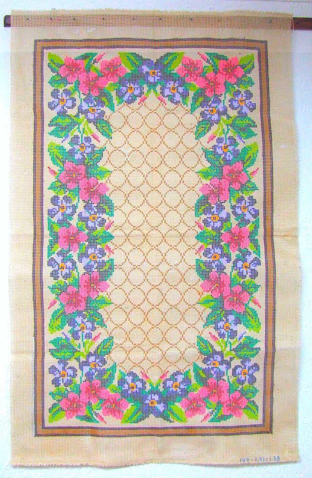 Tela Tapete Floral 24  - Conceição Spinola Tapeçaria
