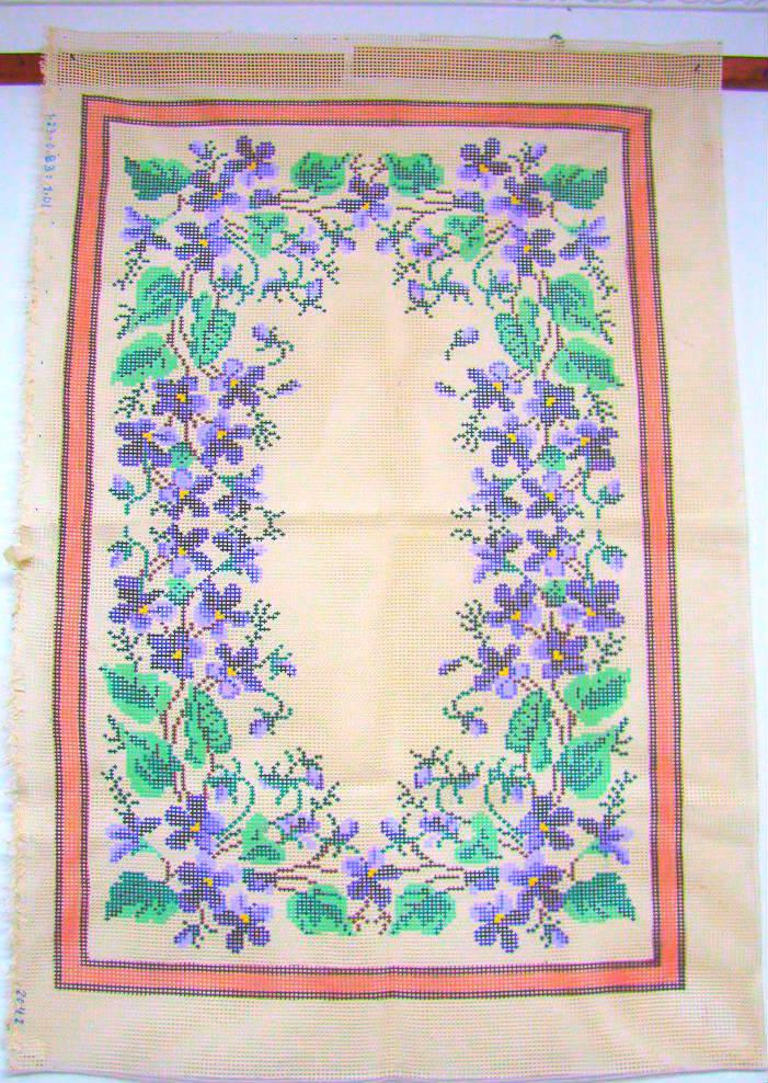 Tela Tapete Floral 25  - Conceição Spinola Tapeçaria