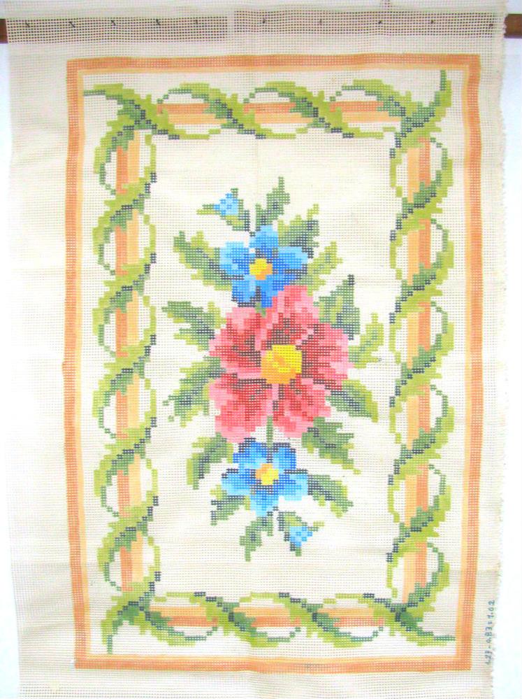 Tela Tapete Flores  - Conceição Spinola Tapeçaria
