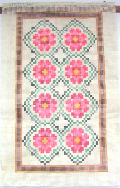 Tela Tapete Floral 28  - Conceição Spinola Tapeçaria