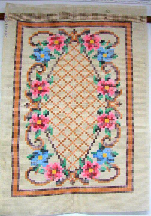 Tela Tapete Floral 29  - Conceição Spinola Tapeçaria