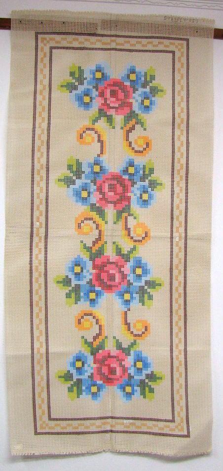 Tela Passadeira Floral 1  - Conceição Spinola Tapeçaria
