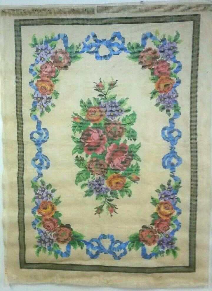 Tela Tapete Floral 33  - Conceição Spinola Tapeçaria