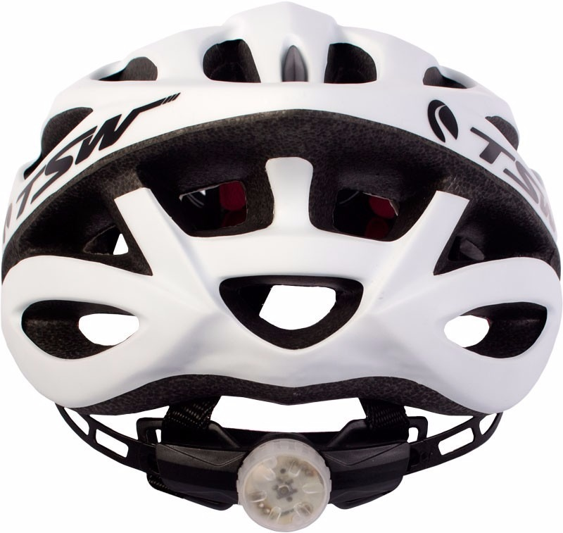 Capacete Bicicleta Tsw Plus 85 C Sinalizador De Led Bike