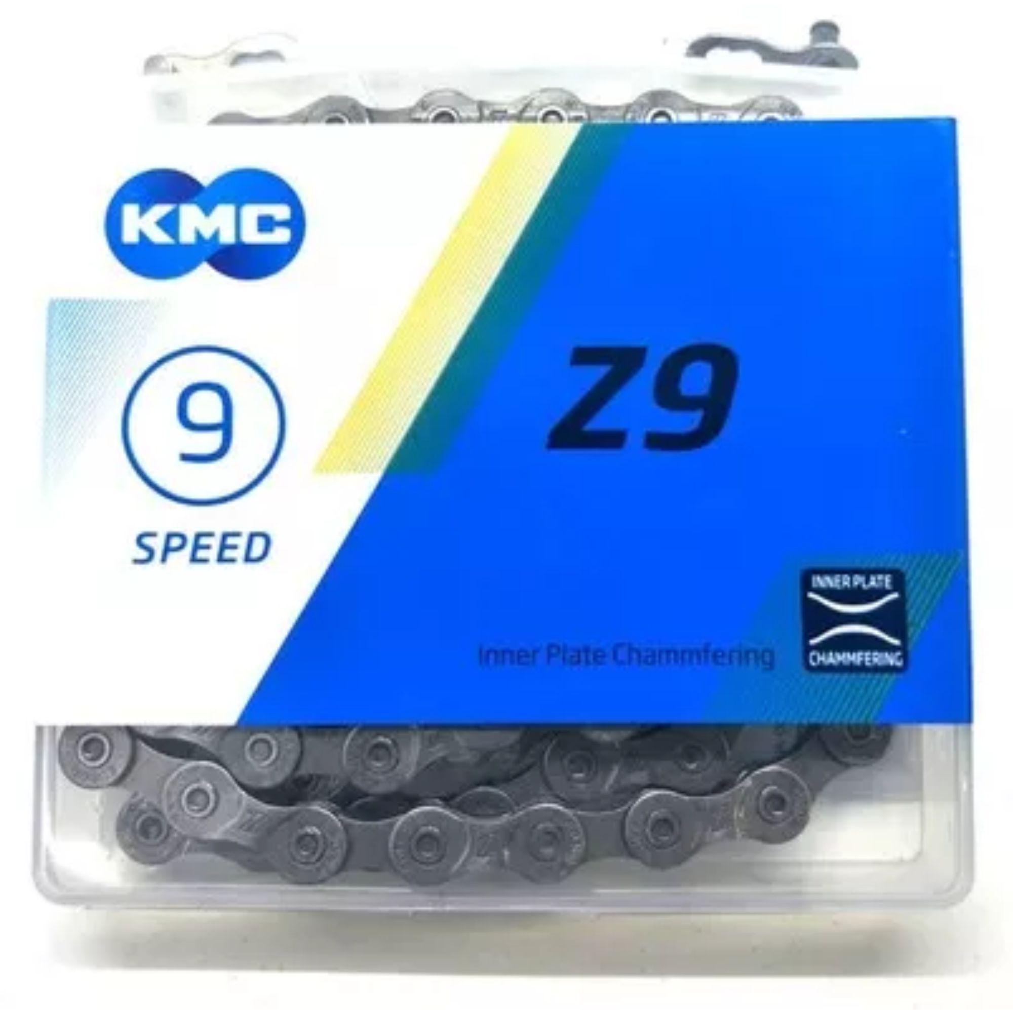 CORRENTE KMC Z9 9 VELOCIDADES