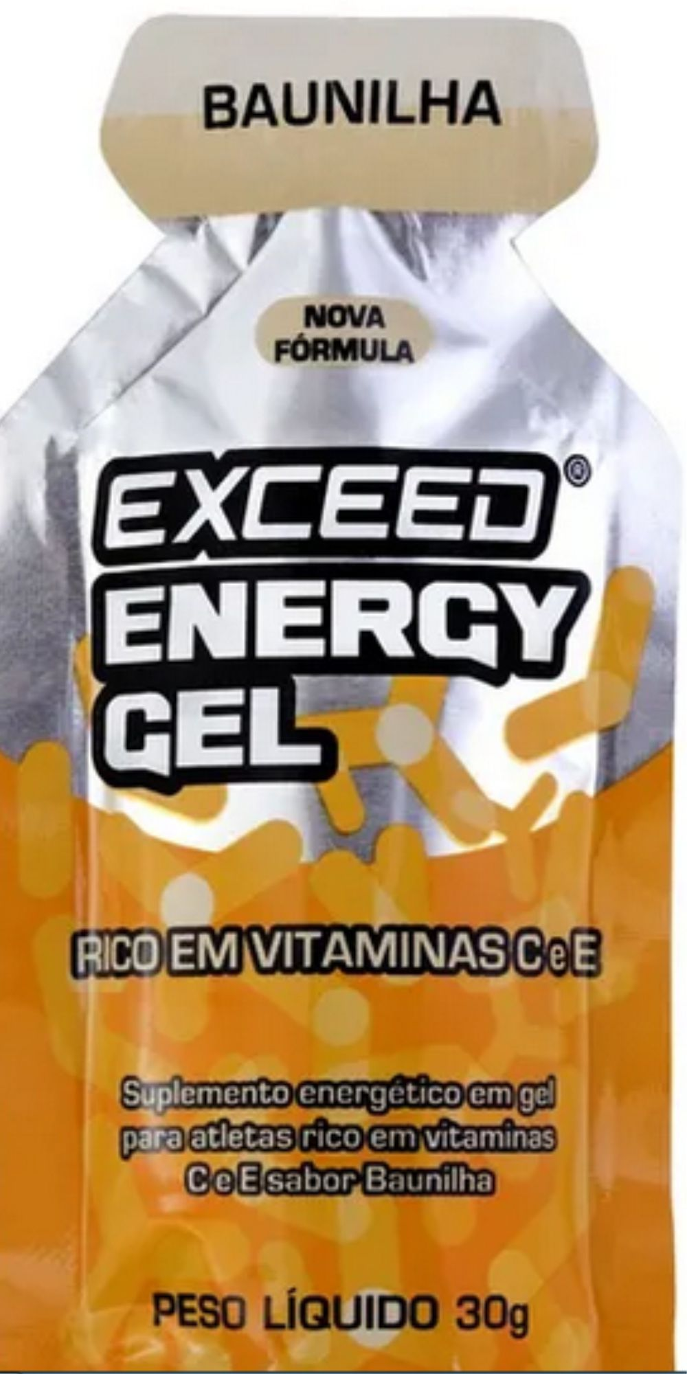 EXCEED ENERGY GEL - VÁRIOS SABORES