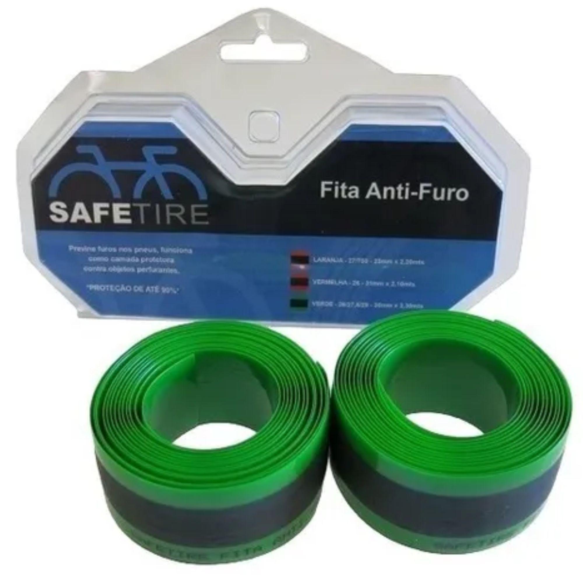 Fita Anti Furo Pneu Aro 29 27.5 26 Safetire 35mm Bike (par)