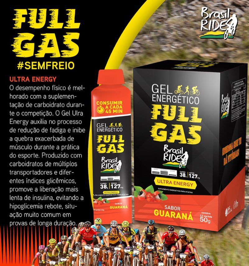 GEL ENERGÉTICO -ULTRA ENERGY-GUARANÁ