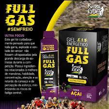Gel energético - Ultra Focus – Açai