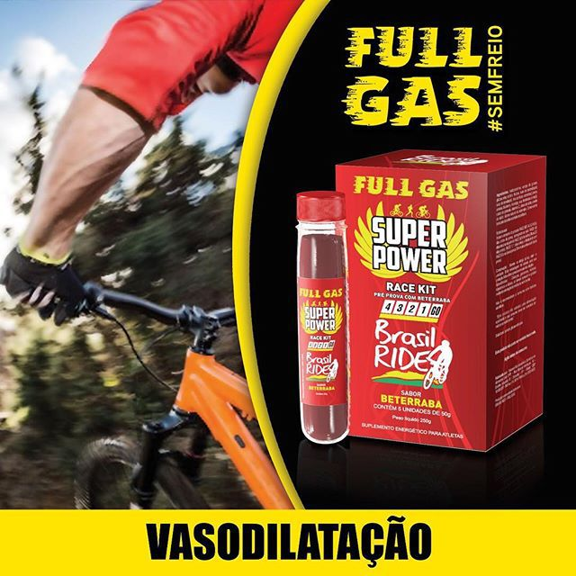 Suplemento Full Gas Super Power Race Kit Pre Prova Cx 5 Un