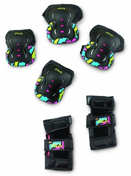Kit de Proteção Infantil Fitness FP Girl Multicolor