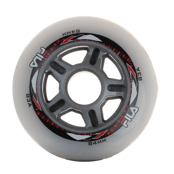 Kit de Rodas para Patins Fila 84mm/83A (8un)