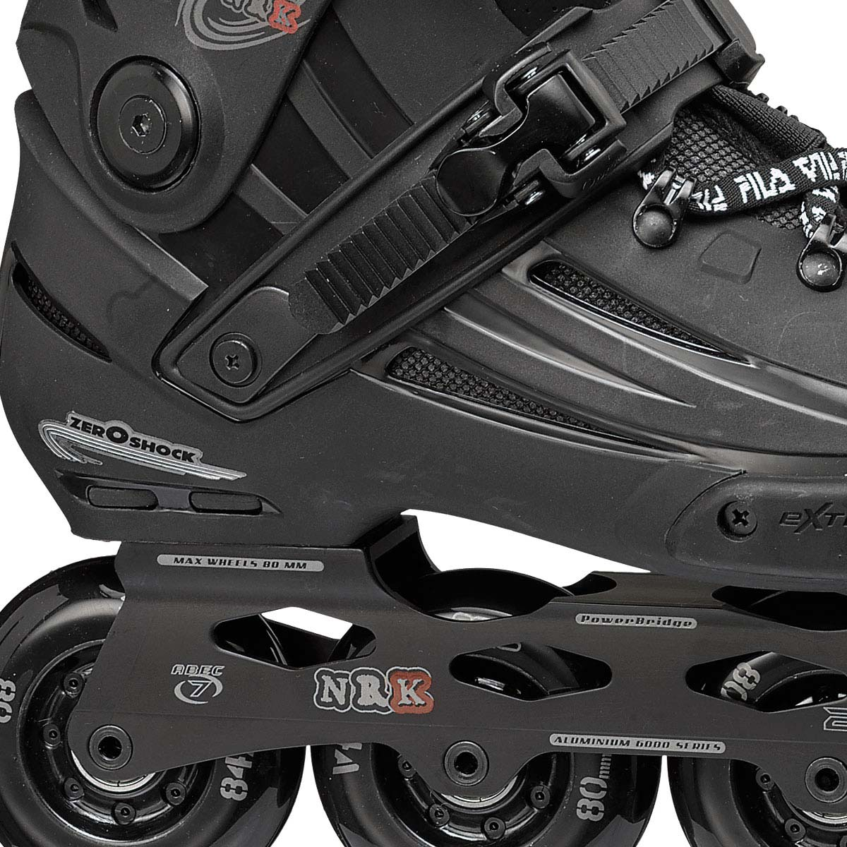 Patins NRK JP Black 80mm/84A ABEC 7