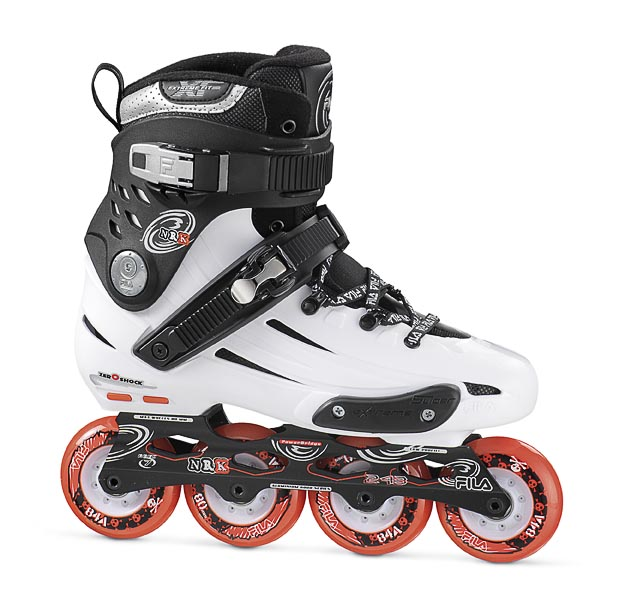 Patins NRK JP White 80mm/84A ABEC 7