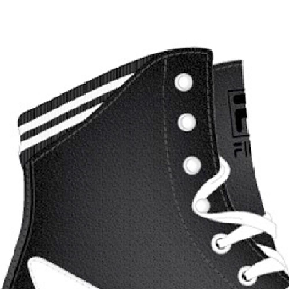 Patins Quad Logo Black Abec 7