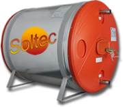 Boiler Soltec El�trico 300 Litros A�o Inox - Alta Press�o