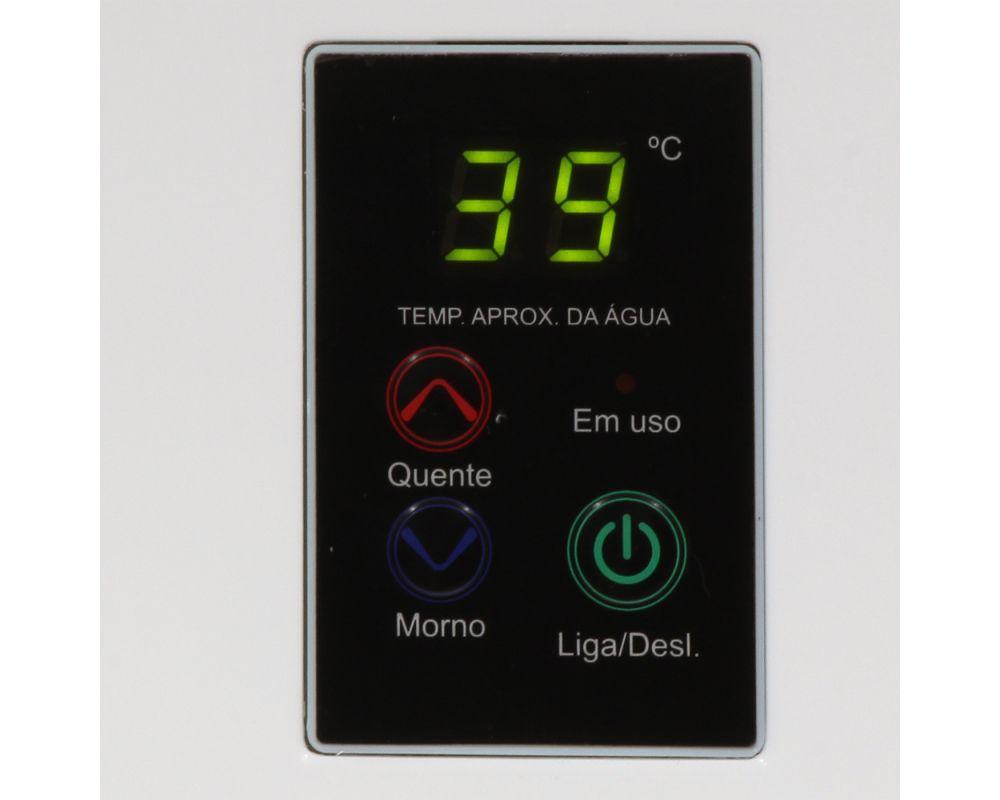 Aquecedor Rinnai REU 2402 FEH Digital - Vazão 32,5 Litros - Branco - Gás GN