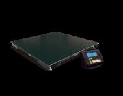 Balança eletrônica de piso pesadora, contadora e comprovadora modelo 2198 C - 1500 kg plataforma 1,20 m x 1,20 m da marca Toledo