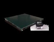 Balança eletrônica de piso pesadoras modelo 2198 - 1500 kg - plataforma 1,20 m x 1,20 m da marca Toledo
