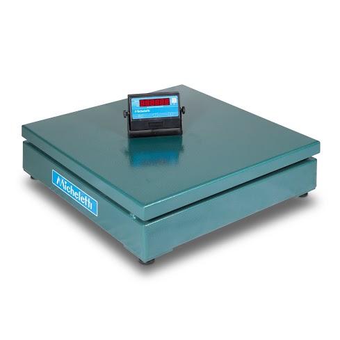 """Balança Hibrida Modelo MIC-500H - 500 kg - 800 mm x 800 mm sem coluna """"Eletromecânica"""""""