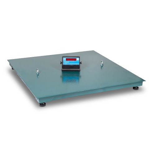 Balança Plataforma Chapa Lisa - 1000 kg - 1000 mm x 1000 mm