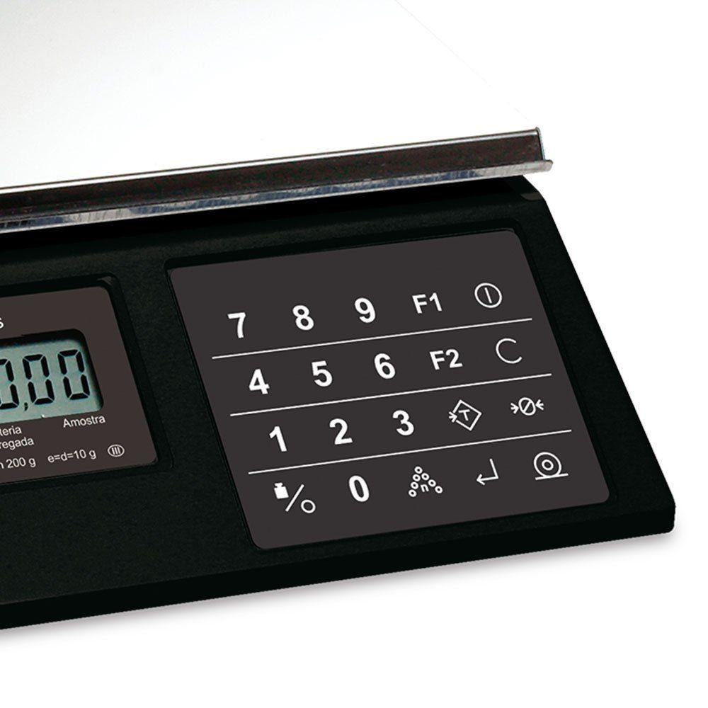 Balança Eletrônica Pesadora e Contadora modelo 3400 - 15 kg da marca Toledo