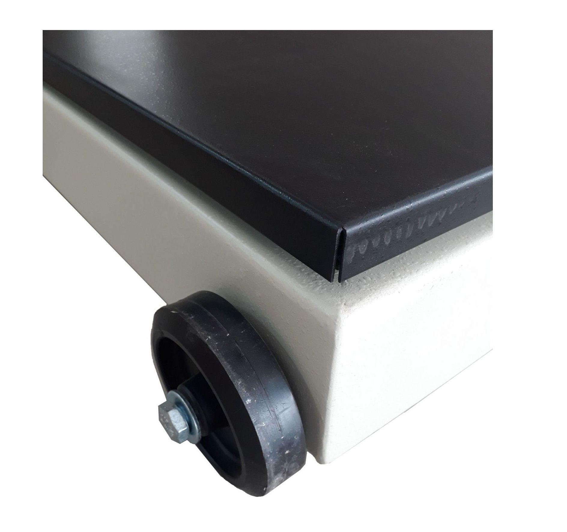 Balança eletrônica portátil pesadora, contadora e comprovadora modelo 2124 - 9098 C - 500 kg