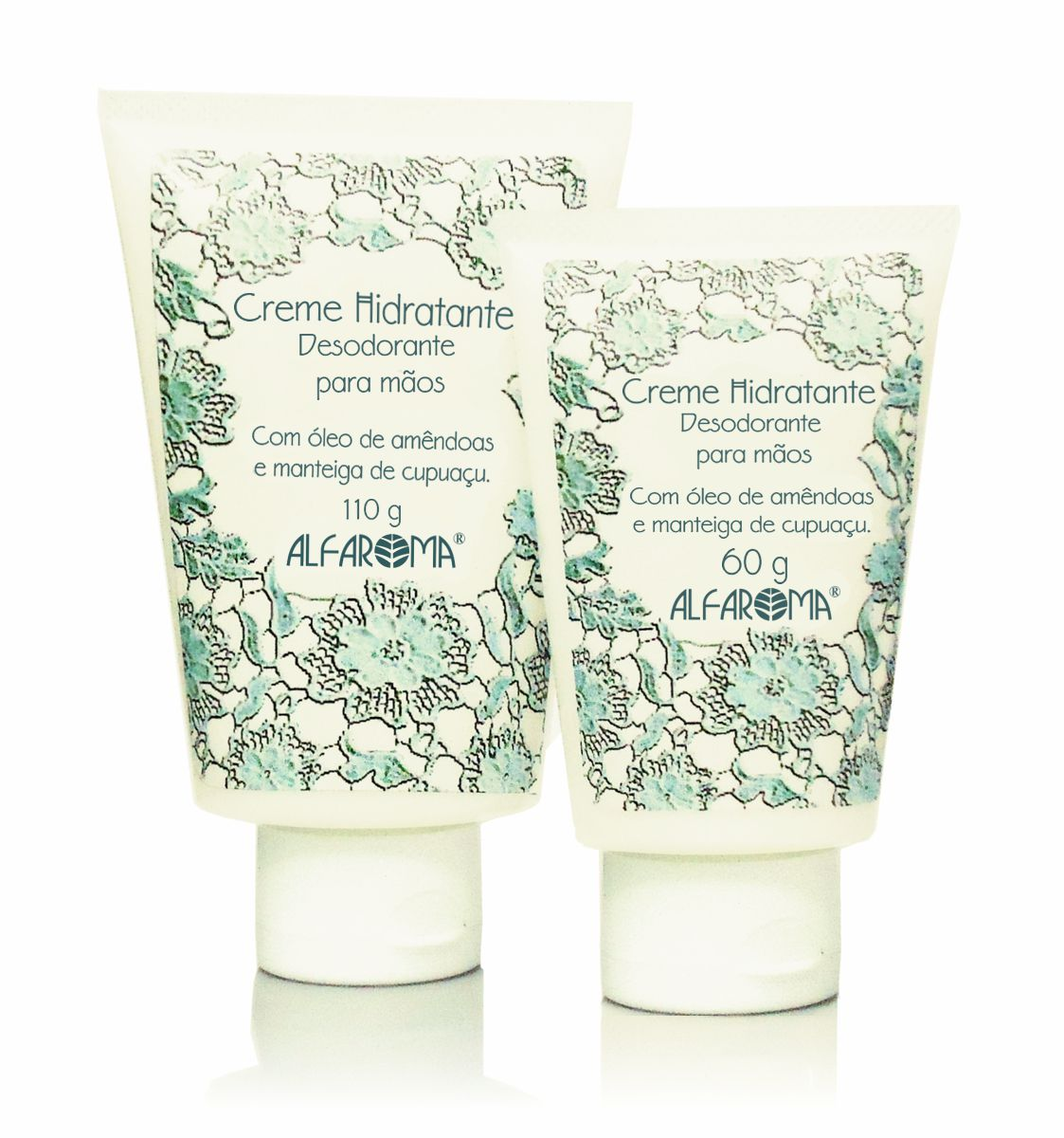 Creme Hidratante Desodorante para as Mãos Alfaroma