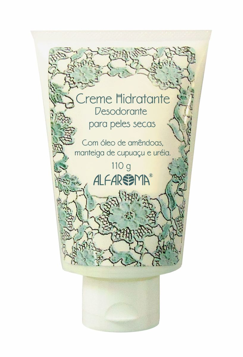 Creme Hidratante Desodorante para Peles Secas Alfaroma 110g