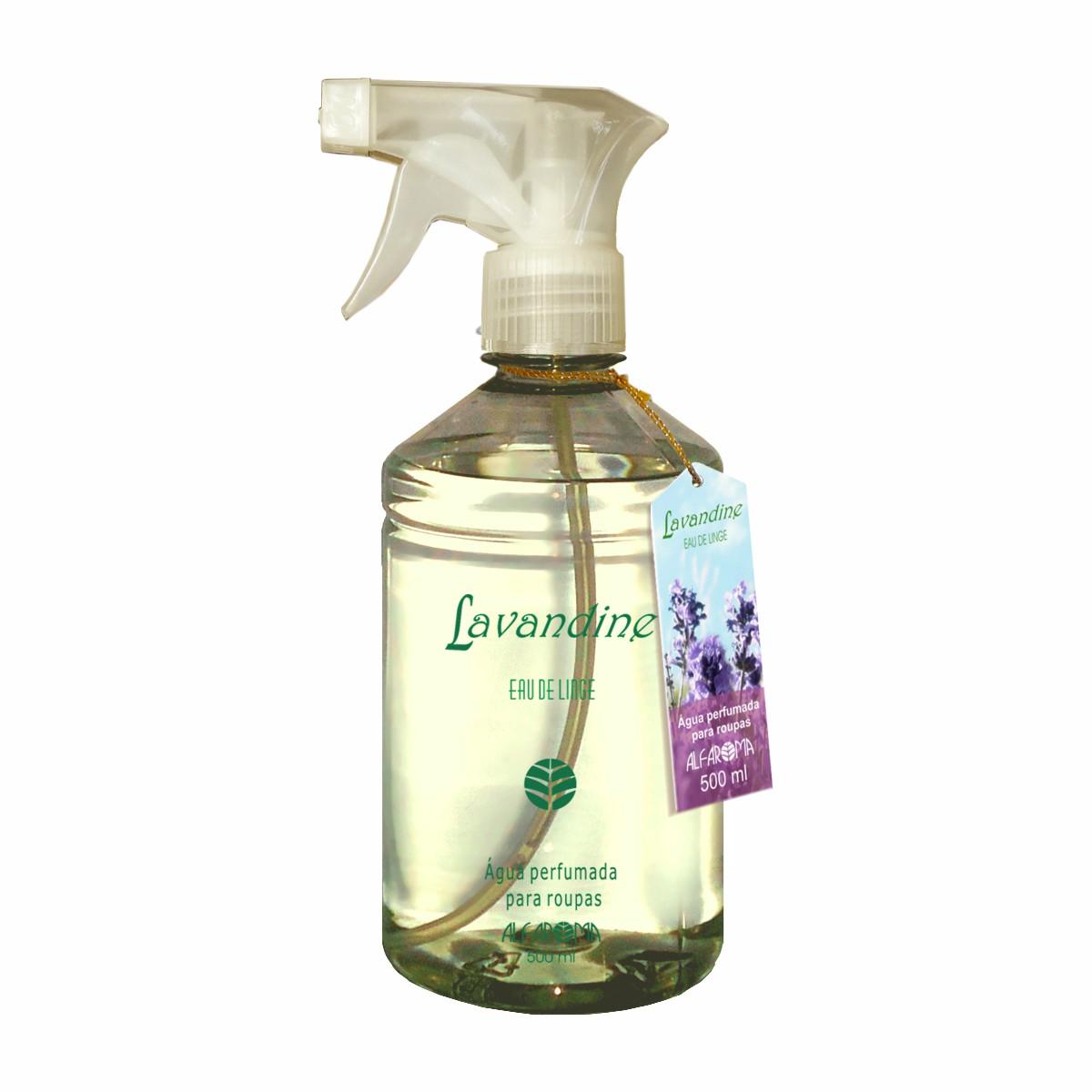 Água Perfumada para Roupas Lavandine Alfaroma 500 ml