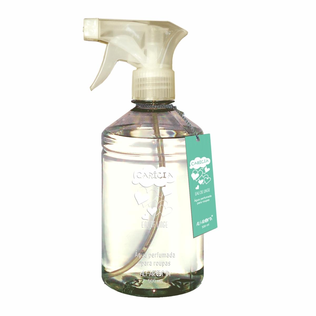 Água Perfumada para Roupas Carícia Alfaroma 500 ml
