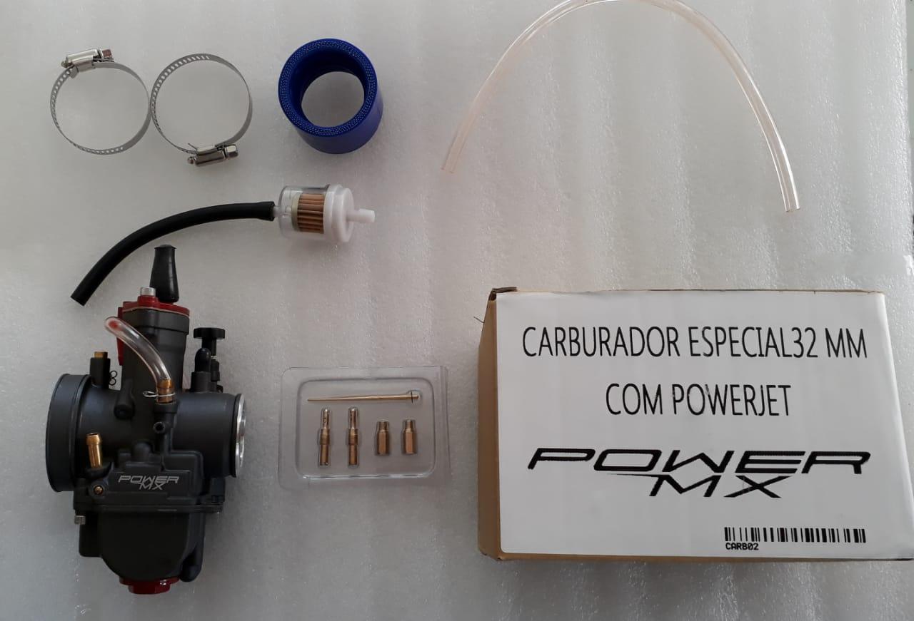 Carburador especial 32MM com power jet