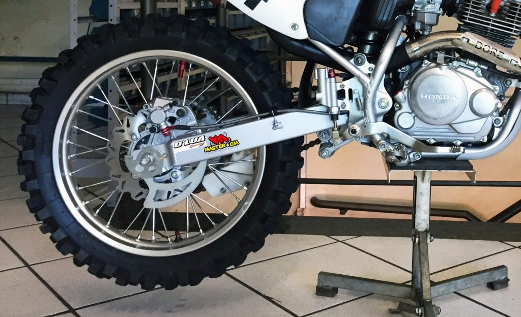 Kit freio a disco traseiro CRF 230 COMPLETO
